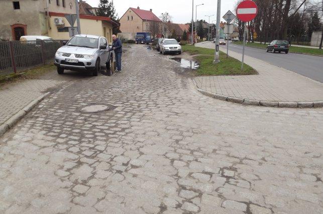 Przebudowa drogi - bocznej, ul. Wrocławskiej