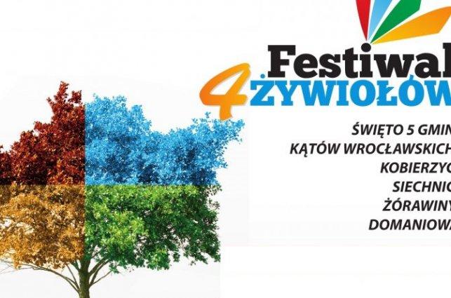 zdjęcie przedstawia logo Festiwalu 4 Żywiołów