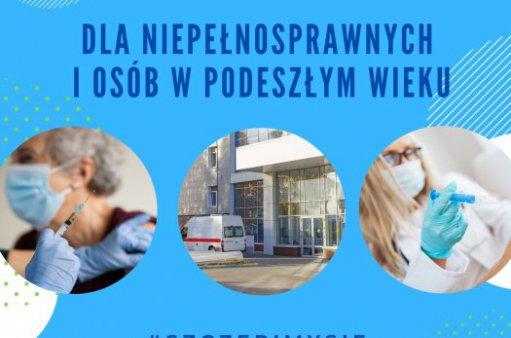 Uruchomiliśmy infolinię w sprawie transportu na szczepienia przeciw Covid-19